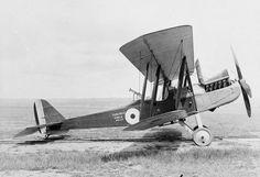 BRITISH AIRCRAFT FIRST WORLD WAR 1914-1918 (Q 68147) Royal Aircraft Factory R.E.8 two-seat corps reconnaissance aircraft. Serial number: C2281 Named aircraft: 'Punjab 22 Simla Hills'.