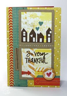 Thankful Card by julie_stamps at Studio Calico