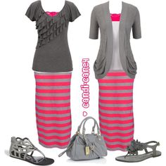 A fashion look from June 2013 featuring BKE tops, PacificPlex skirts et Sole Society sandals. Browse and shop related looks.