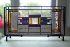 Voorzetramen geplaatst in rekjes of voorzien van een ophang- of montageprofiel - Glas In Lood Toos Martens Wellerlooi
