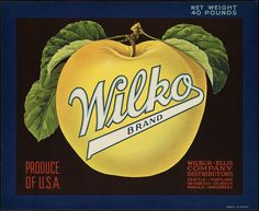 1940-1949 Wilko Brand: Produce of U.S.A., Wilbur-Ellis Company distributors by Boston Public Library, via Flickr