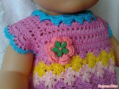 Tęczowy strój dla Babiku. - Szafa dla lalek - Country of Moms Baby Born, Crochet Necklace, Blanket, Country, Fashion, Blankets, Moda, Crochet Collar, Rural Area