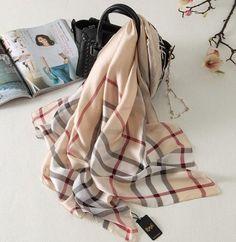 2017 luxuy brand women silk scarf fashion long shawls and wraps print rayon striped scarf Beach Big scarves stoles foulard