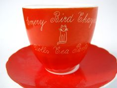 Emery Bird Thayer Tea Cup
