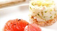 Tartare di pescatrice con pompelmo rosa al pepe | Food Loft - Il sito web ufficiale di Simone Rugiati