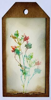 Hello and Good Morning Creative Ones-! Day TWO of Tim Holtz class.  I am just loving waking up and spending time with new Techniques....