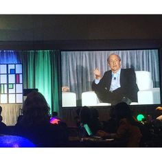 """Sir Timothy Berners-Lee, inventor of the World Wide Web was a keynote at #FutureM last week. #trainyourcloud"" Photo taken by @smartermediumllc on Instagram, pinned via the InstaPin iOS App! http://www.instapinapp.com (10/15/2015)"