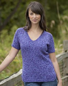 Ravelry: Sierra Casual T-Shirt W404 pattern by Vera Sanon