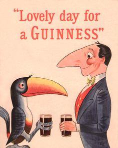 Pub vintage de Guinness