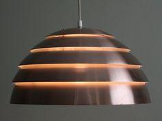 Hans Agne Jakobsson - Ceiling light in copper T325/450 - Berg Gallery