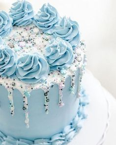 I find it amazing how has revolutionized the humble drip cake and helped start the fascinating trend of The Sprinkle - Kuchen streusel - Cake Design Pretty Cakes, Beautiful Cakes, Amazing Cakes, Fancy Cakes, Mini Cakes, Cupcake Cakes, Cake Decorating Designs, Cake Decorating Techniques, Cake Decorating Amazing