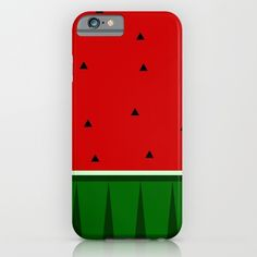 """iPhone case """"Watermelon"""" design for all iphone 4, iphone 5, iphone 6"""