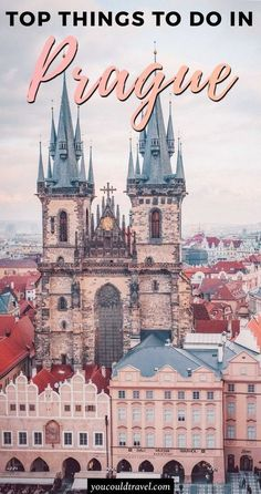 The top 30 things to do in Prague - Prague is a wonderful city to visit all year round as during summer it's warm and lovely and during winter is snowy and magical. We loved Prague and thought it was one of the most photogenic European capitals. Europe Travel Guide, Europe Destinations, Travel Info, Cities In Europe, Cool Places To Visit, Places To Travel, Prague Places To Visit, Pont Charles, Charles Bridge