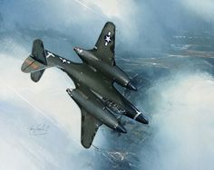 McDonnell XP-67 Bat. Only one was ever flown in the late 1940s (and that was for a total of only 43 hours).