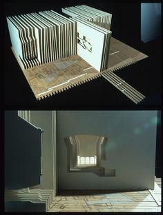 레이어드 겹의 효과 빛의 중첩됨의 어두움 감소 한옥등 깊이감 세로로 깊이 파들어갈때 레벨에따른 재미감과 심연/theorie des entwerfens @ tu bs / szyszkowitz