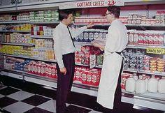 Colour photographs of US Supermarkets, 1950s-1960s   Retronaut