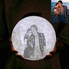 With customized moon lamp, you can keep your love and other happy memories literally illuminated for some long time to come. Bring this enchanting moon to your loved ones' room to let know you'll Love Them To The Moon And Back! With his/her photos engraving on the moon, he/she can now reactable experience the beautiful Valentines Gifts For Boyfriend, Boyfriend Gifts, Valentine Gifts, Bf Gifts, Xmas Gifts, Christmas Gifts For Couples, Gifts For Family, Christmas Ideas, Photo 3d