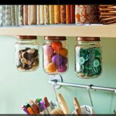 craft room design | Craft room | Home decorating