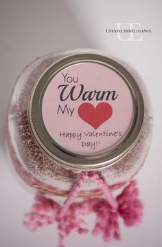 Valentine Gifts-Hot Cocoa and FREE Printables