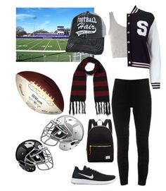 """""""Untitled #62"""" by stinebf on Polyvore featuring Topshop, Elie Tahari, Miss Selfridge, NIKE, Herschel Supply Co. and Dr. Martens"""
