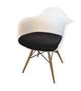 Replica Eames DAW Armchair Padded Seat   Sokol Designer Furniture