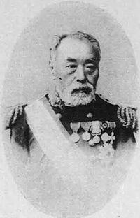 晩年の赤松則良Akamatsu Noriyoshi.(通称・大三郎)幕臣、1860年遣米使節団に随行。その後オランダに留学し砲術、造船学を学ぶ。日本造船の父と呼ばれた。