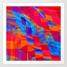 Earth, Wind, Fire.... Art Print by David  Gough - $15.00