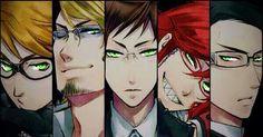 Those shinigami green eyes...