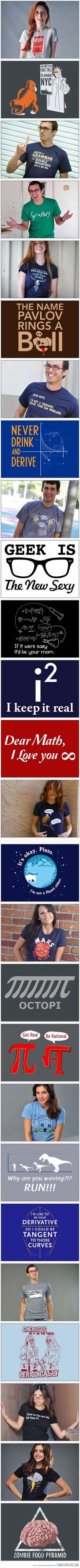 Coolest geek t-shirt designs…
