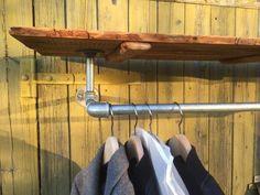 Hattehylde med bøjlestang  Hat Shelf with hanging rail  By Henrik Rabøl  Rabøl Interior  Vesterbrogade 177 1800 Frederiksberg  Www.henrikraboel.dk