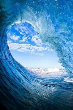 Blue Wave INTIMACY WITH GOD IS WHY THE COMPULSION DEVELOPED TO SURF<>