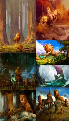 Beautiful Narnia concept art! Also kinda reminds me of Lord of the Rings:)