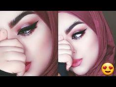 مكياج سبوت لايت وردي مع ايلاينر مسحوب فخم للمناسبات حوري بيوتي Youtube Halloween Face Makeup Makeup Face Makeup