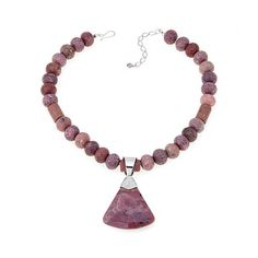 Image result for bead stringing with large bale pendant