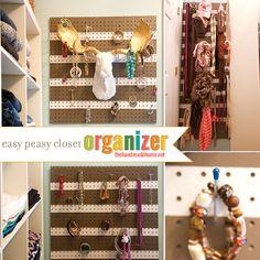 easy peasy closet organizer