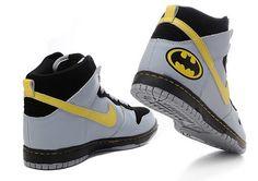 quality design 6e68f 4c6e2 Nike Dunk High Batman The Dark Knight Logo Shoes   Nike High Tops, SB Dunks