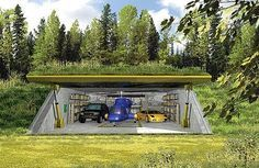 Underground bunker | Which of these underground shelters is best? I hope to make one., page ... #bunkerplans