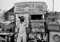 Mobile Record Store in Kingston Jamaica African American Artist, American Artists, Kingston Jamaica, Vinyl Junkies, Vinyl Music, Vinyl Records, People Of Interest, Reggae Music, Music Film