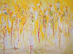"Saatchi Online Artist Ching Ma; Painting, ""The Passionate Autumn Woods"" #art"