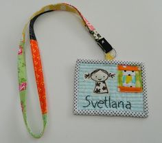 Quilted name tag for Jo of Bearpaw | Quilted Name Tags | Pinterest ... : quilting name tags - Adamdwight.com