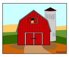 A Little Barn Raising About Barns Cookie IdeasTemplateRed PaintUNIQUEHouse DesignClip ArtBirthday IdeasPreschool