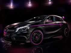 One-Off A45 AMG Looks Pretty in Pink