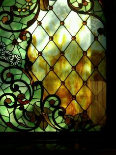 Winchester Mystery House - The most beautiful window.