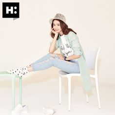 More of SNSD YoonA's delightful pictures for 'H:Connect' ~ Wonderful Generation