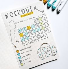 workout bullet journal page - workout bullet journal & workout bullet journal layout & workout bullet journal fitness planner & workout bullet journal ideas & workout bullet journal doodles & workout bullet journal tracker & workout bullet journal page