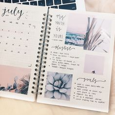"skiesandjournals: ""15.07.17 - 15/100 days of productivity i know this is v late but here's my monthly spread for July! """
