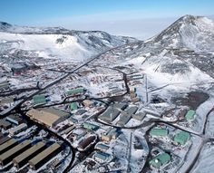 McMurdo Station for science in Antarctica