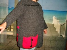 Rendas da Mãe: Capa / Camisola / Poncho em tricot