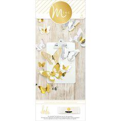 Minc 3D Paper Butterflies 32/Pkg-