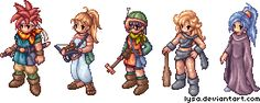 Chrono Trigger RO Sprites by *Lysa on deviantART
